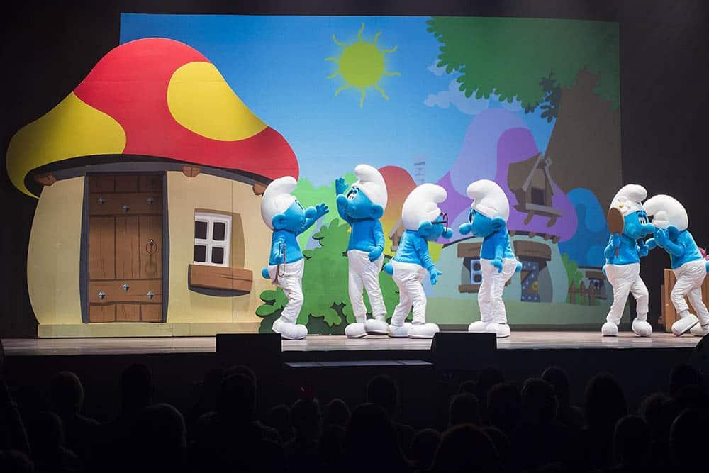 smerfy live on stage